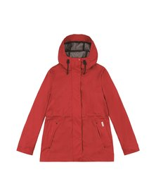 Hunter Light Weight Rubberised Jacket Military Red