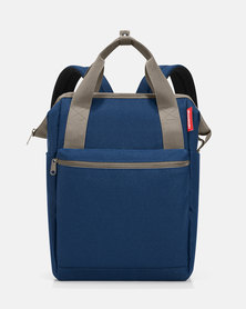 Reisenthel water-repellent premium-quality polyester allrounder R large dark blue travel bag