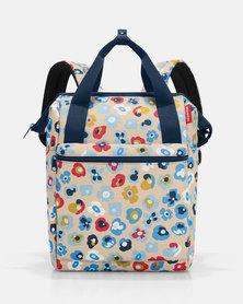 Reisenthel water-repellent premium-quality polyester allrounder R large millefleurs travel bag