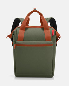 Reisenthel water-repellent premium-quality polyester allrounder R large urban forest travel bag