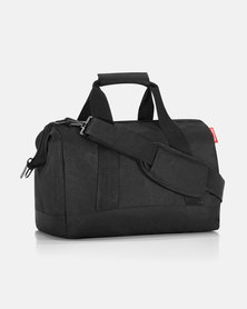 Reisenthel water-repellent premium-quality polyester allrounder M black travel bag