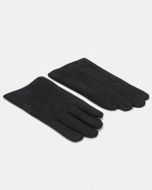 Blackchilli Faux Suede Gloves Black
