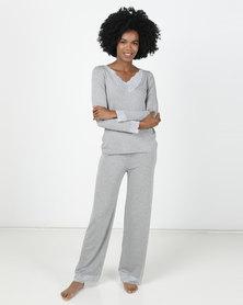 Bella G April Pyjama Set Grey