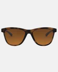 Oakley Moonlighter Polarized Sunglasses Brown Tortoise