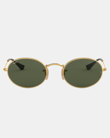 Ray-Ban Oval Sunglasses Gold
