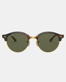 Ray-Ban Clubhouse Sunglasses Red Havana