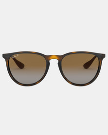 Ray-Ban Erika Polarized Sunglasses Havana