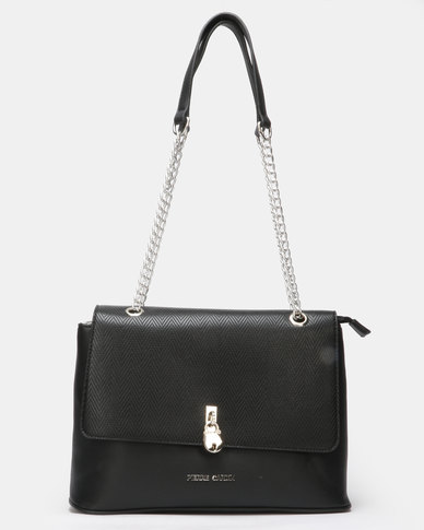 Pierre Cardin Rosie Crossbody Bag Black