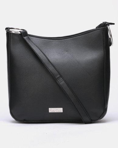 Pierre Cardin Ring Crossbody Bag Black