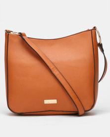 Pierre Cardin Ring Crossbody Bag Tan