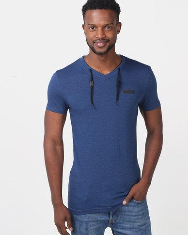 c5e122e2 Soviet Riviera Short Sleeved Fashion T-shirt Blue | Zando