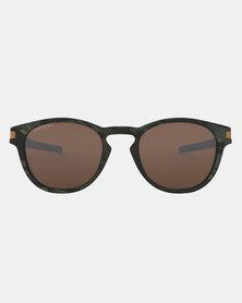 Oakley Latch Olive Camo Collection Sunglasses Prizm Tungsten Olive Camo