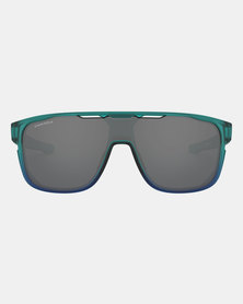 Oakley Crossrange Shield The Mist Collection Sunglasses Prizm Black Arctic Mist