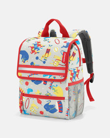 Reisenthel water-repellent premium-quality polyester backpack kids circus travel bag