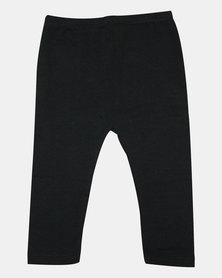 Razberry Baby Black Cotton Lycra Leggings