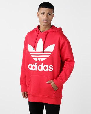 adidas Originals Mens Oversized Oth Red