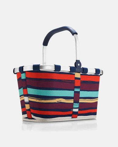 Reisenthel water-repellent premium-quality polyester carrybag artist stripes picnic bag