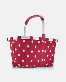 Reisenthel water-repellent premium-quality polyester carrybag ruby dots picnic bag