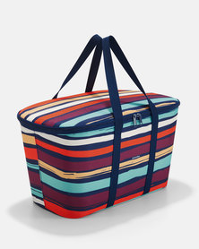 Reisenthel high-quality polyester fabric, water-repellent coolerbag artist stripes