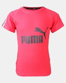 Puma Sportstyle Core Boys Tape Tee B Tee Red