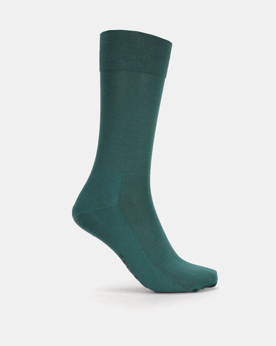 Falke Quantum Anklet Socks Olive Green