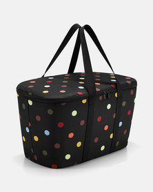 Reisenthel high-quality polyester fabric, water-repellent coolerbag dots