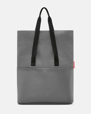 Reisenthel high-quality canvas, coated on one side foldbag canvas black
