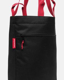 Reisenthel familybag premium-quality polyester, water-repellent black shopping bag