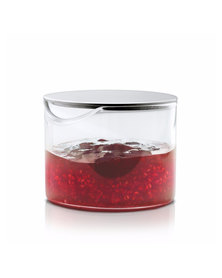 blomus Basic Glass Condiment Jar with Lid
