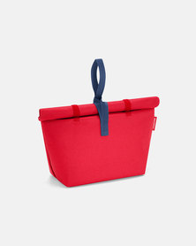 Reisenthel premium-quality polyester, water-repellent fresh lunchbag iso M red