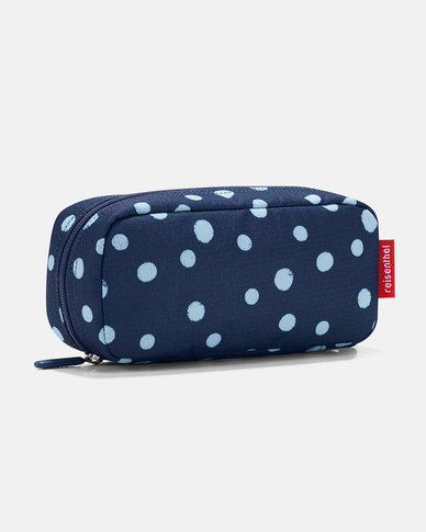 Reisenthel high-quality polyester fabric, water-repellent multicase spots navy