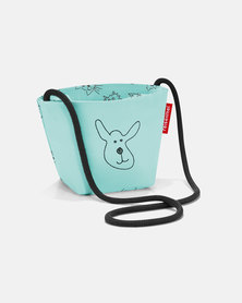 Reisenthel premium-quality, tear-proof polyester, water-repellent minibag kids cats and dogs mint