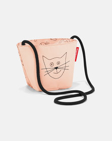 Reisenthel premium-quality, tear-proof polyester, water-repellent minibag kids cats and dogs rose