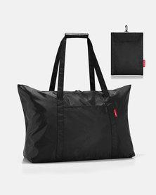 Reisenthel premium-quality polyester, water-repellent mini maxi travelbag black