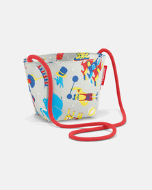 Reisenthel premium-quality, tear-proof polyester, water-repellent minibag kids circus