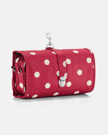 Reisenthel polyester wrapcosmetic ruby dots