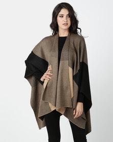 G Couture Stone Monochrome Cape