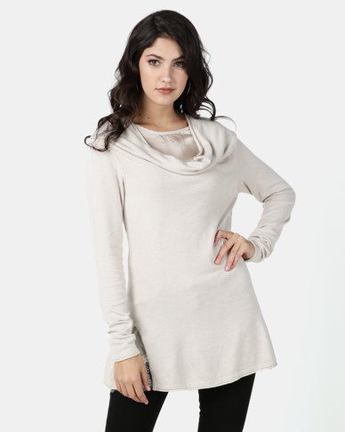 G Couture Stone Twofor Jumper Knit