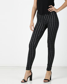 G Couture Green Leggings