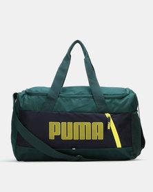 Puma Sportstyle Core Fundamentals Sports Bag S II Green