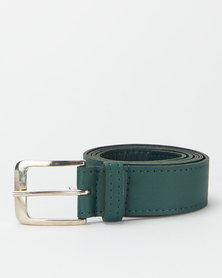 Black Lemon Casual Belt 35mm Olive