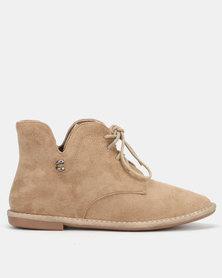Butterfly Feet Lodium Boots Beige