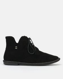 Butterfly Feet Lodium Boots Black