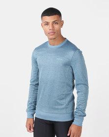 Merrell Passport Crew Sweatshirt Blue
