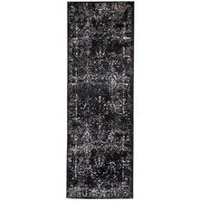 Lush Living Windsor Black Grey Rug