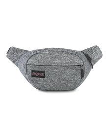 JanSport Fifth Avenue FX Waistbag Black Woven Knit