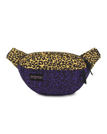 JanSport Fifth Avenue Waistbag Purple Leopard Life