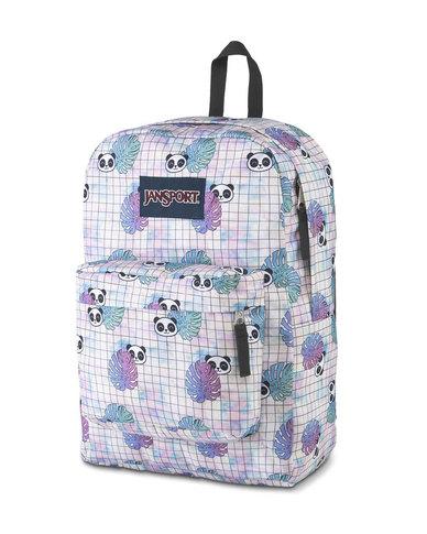 JanSport Superbreak Backpack Hide and Seek Panda