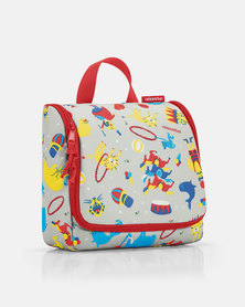 Reisenthel premium-quality, tear-proof polyester, water-repellent toiletbag kids circus