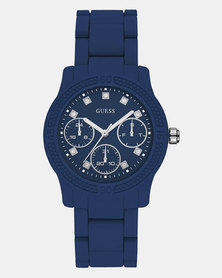 Guess Funfetti Watch Blue